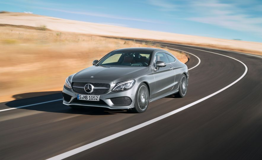 2017 Mercedes-Benz C300 coupe - Slide 4