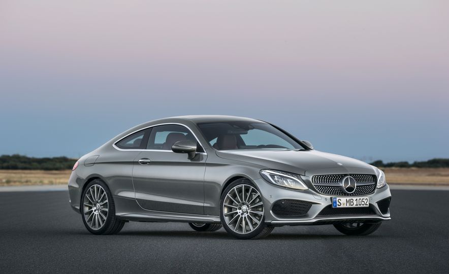 2017 Mercedes-Benz C300 coupe - Slide 9