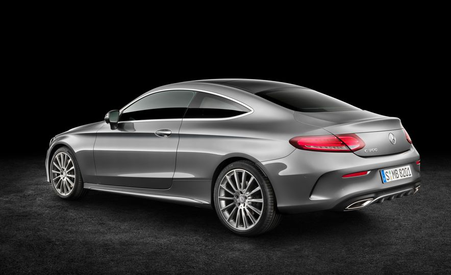 2017 Mercedes-Benz C300 coupe - Slide 16
