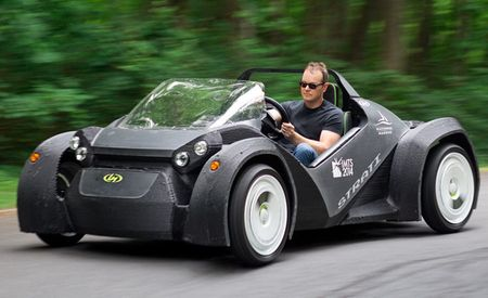 We Take the Wheel of the World's First 3D-Printed Car