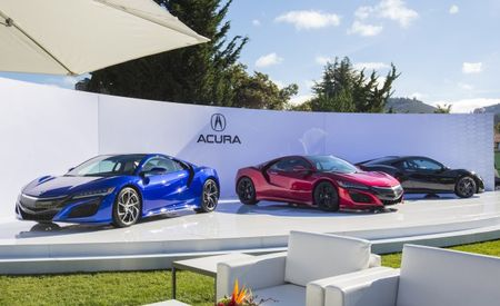 Red, Black, and Blue: Acura NSX Appears in More Colors [Gallery]