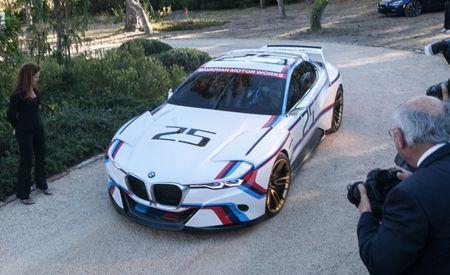 BMW Unveils Retro-Liveried 3.0 CSL Hommage R Concept at Pebble Beach