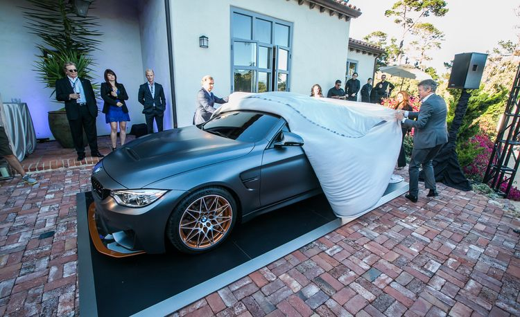 BMW M4 GTS Concept: A Preview of the Hard-Core Car to Come – Auto Shows