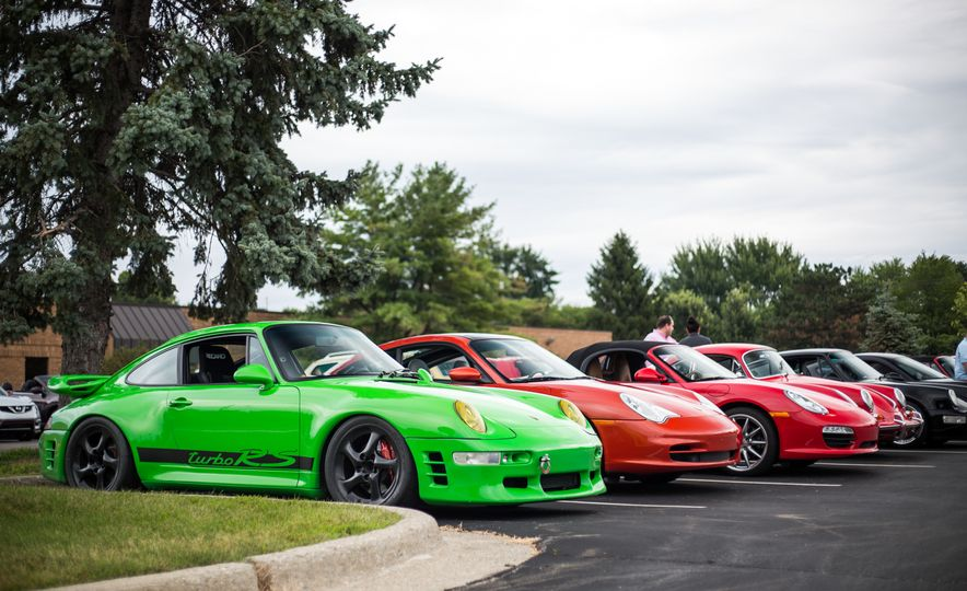 Car and Driver's Cars and Coffee 2015: The Biggest Yet - Slide 1
