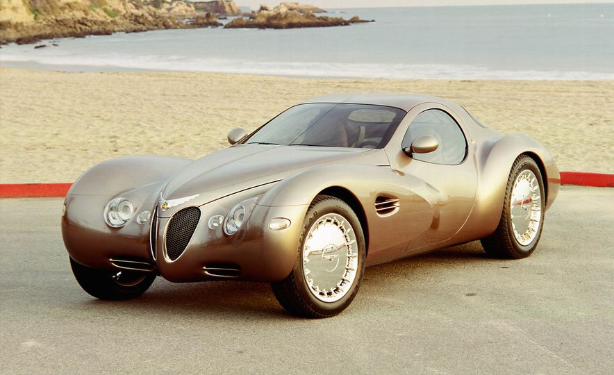 Exceptional Conceptual: The Greatest Concept Cars of All Time, Volume I - Slide 10