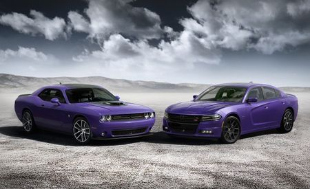 Dodge Goes Plum Crazy Again with Purple-Hued Charger and Challenger