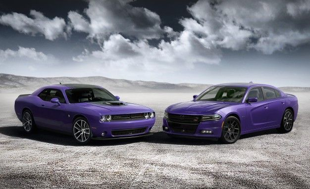 Dodge Goes Plum Crazy Again with Purple Charger and Challenger ...