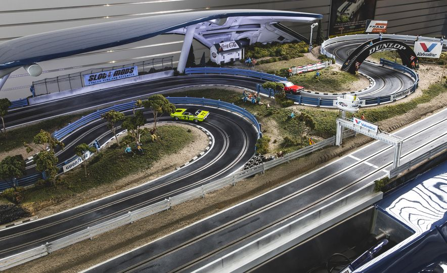 David Beattie Makes the World's Most Extravagant and Realistic Slot-Car Tracks - Slide 4