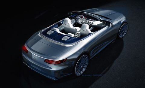 Mercedes-Benz S-class Cabriolet Leaked—By Benz Itself