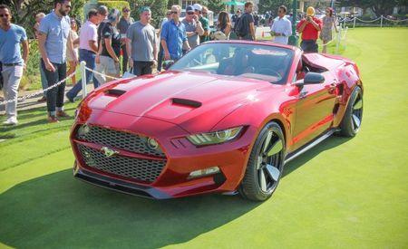2016 Ford Mustang Galpin Rocket Speedster: Fisker's Dream Mustang Loses Its Lid