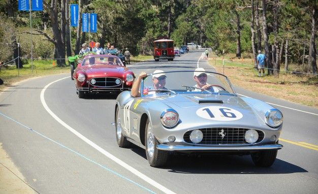 The Pebble Beach Tour D Elegance Puts Show Cars