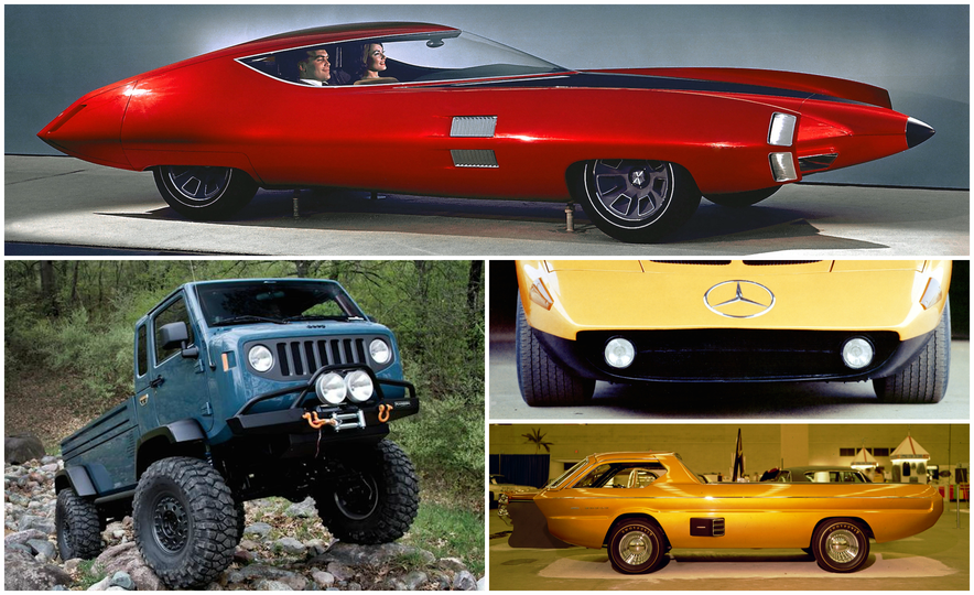 Exceptional Conceptual: The Greatest Concept Cars of All Time, Volume I - Slide 1