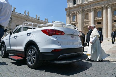 Pope Francis to Rock a Jeep Wrangler on U.S. Visit