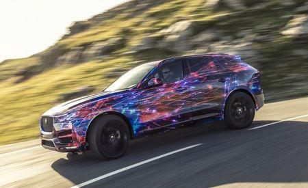 Jaguar Releases Details, Single Photo of F-Pace Crossover Before Frankfurt Debut