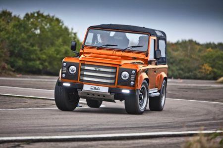 Zulu Super Defender: The 475-hp Brute Land Rover Won't Build
