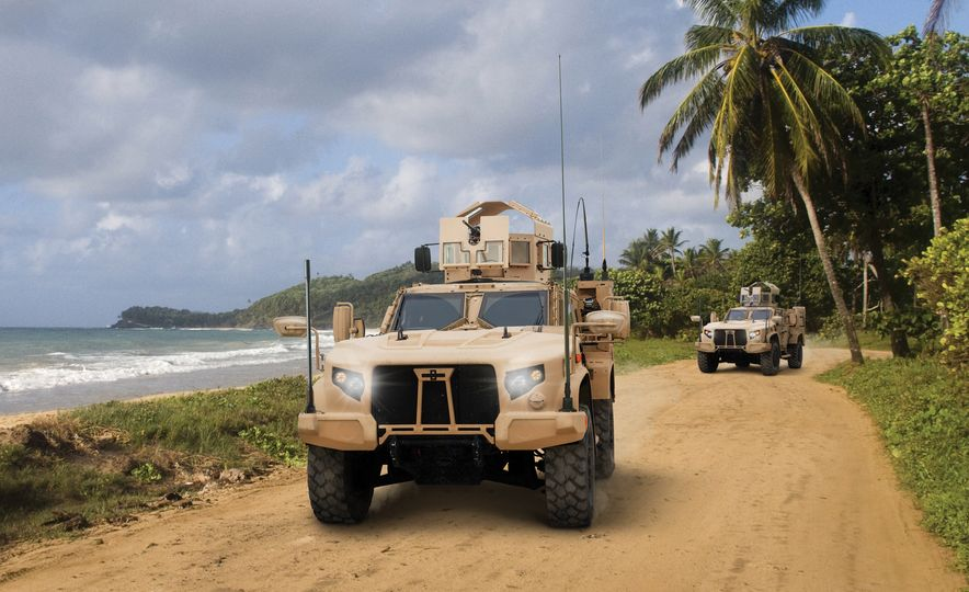 Oshkosh Defense Joint Light Tactical Vehicles - Slide 1