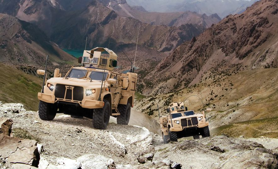 Oshkosh Defense Joint Light Tactical Vehicles - Slide 2