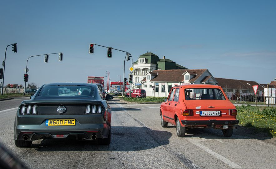 The 24 Hours of Europe: One Ford Mustang GT, One Full Day, 18 Countries - Slide 11
