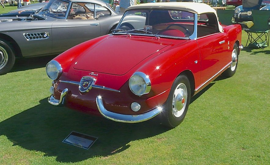 Only ten examples of Ferrari's 275 GTB/4 NART Spider were built. This is one of them. - Slide 45