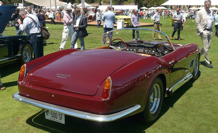 Only ten examples of Ferrari's 275 GTB/4 NART Spider were built. This is one of them. - Slide 55