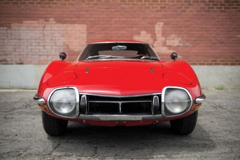 The First Toyota 2000GT to Set a Tire in America Just Sold for $825,000