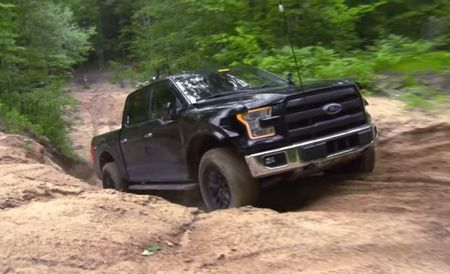 Watch a 2017 Ford Raptor Prototype in Off-Road Testing