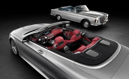 Rejoice, Miami! Mercedes to Unveil S-Class Cabriolet at Frankfurt Auto Show