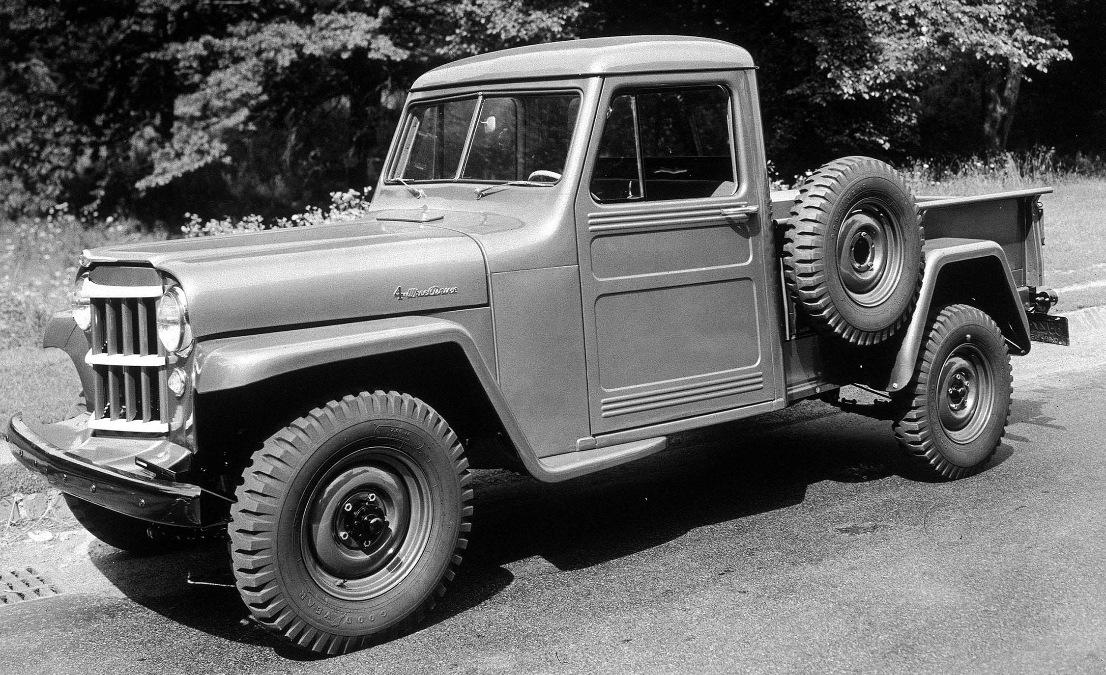 A Visual History Of Jeep Pickup Trucks The Lineage Is Longer Than 1954 Chevy Crew Cab You Think