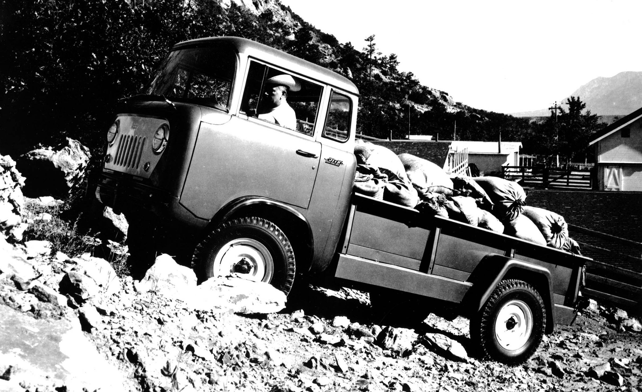 Jeep Pickup Truck History Go Beyond The Wrangler 1950 Willys