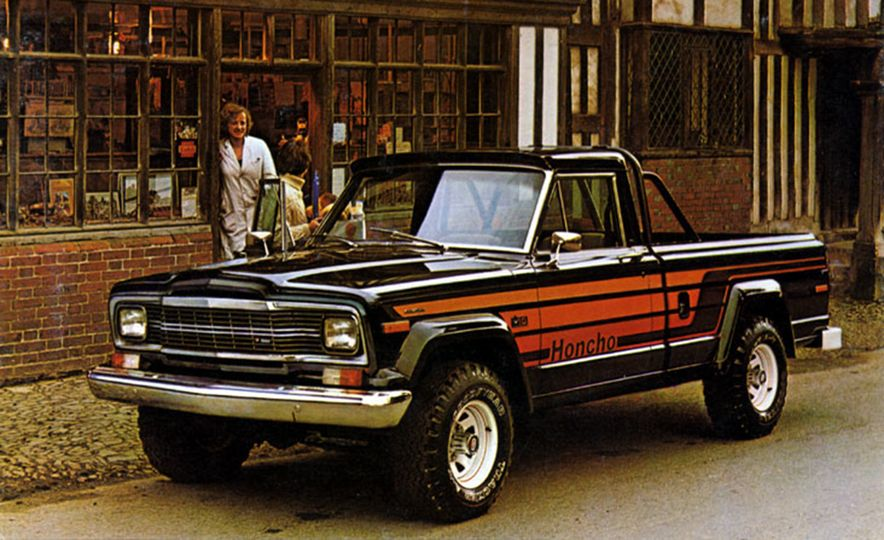 A Visual History of Jeep Pickup Trucks: The Lineage Is ...