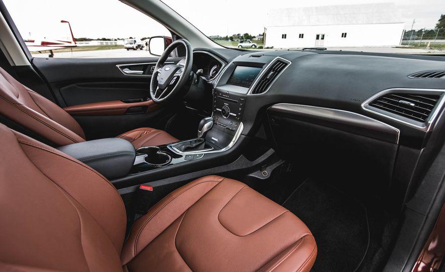 2015 Ford Edge Titanium 2.0T EcoBoost - Slide 21