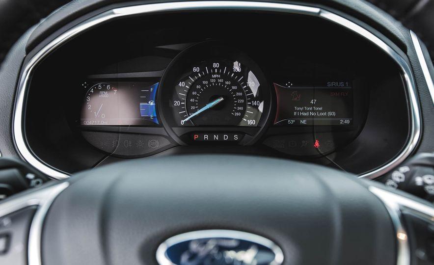 2015 Ford Edge Titanium 2.0T EcoBoost - Slide 28