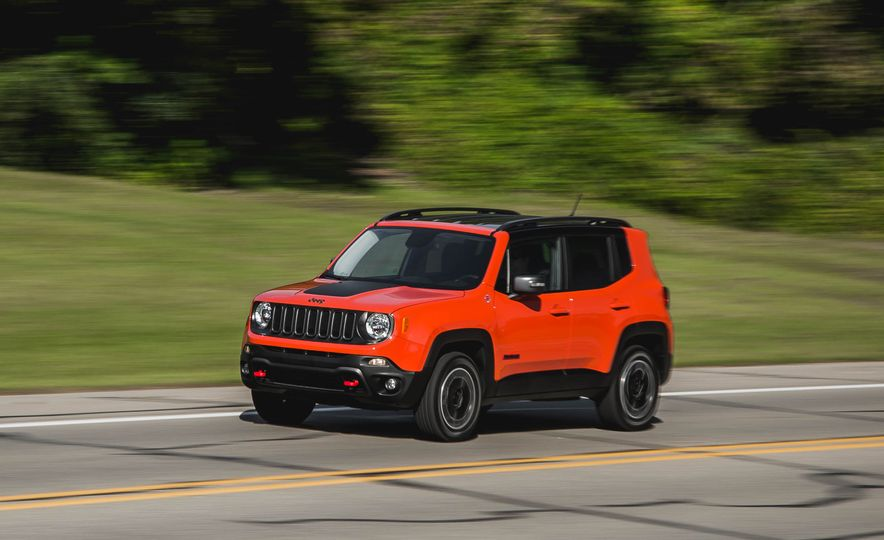 2015 Jeep Renegade Trailhawk - Slide 1