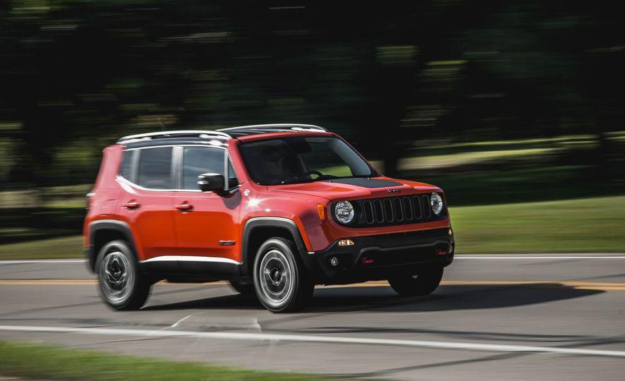2015 Jeep Renegade Trailhawk - Slide 11
