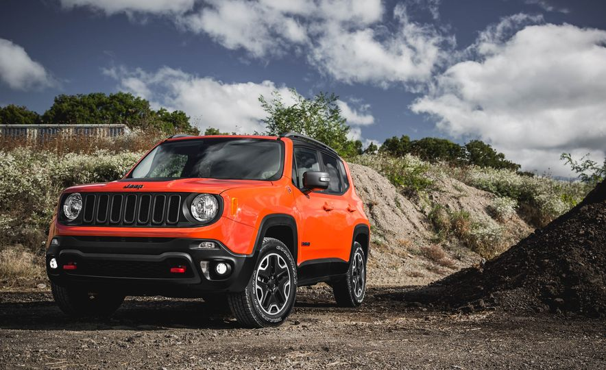 2015 Jeep Renegade Trailhawk - Slide 14