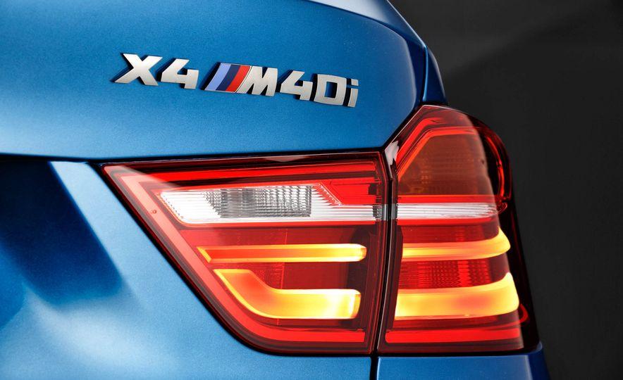 2016 BMW X4 M40i - Slide 34