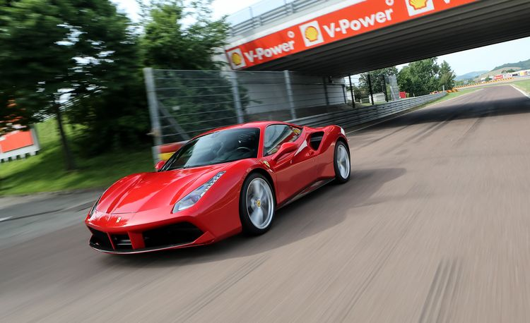 Aerosmithing: How the Ferrari 488GTB Makes the Air Its Ally