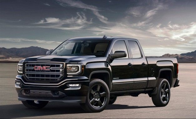 2016 GMC Sierra Elevation Edition: Because Blacked-Out Trucks