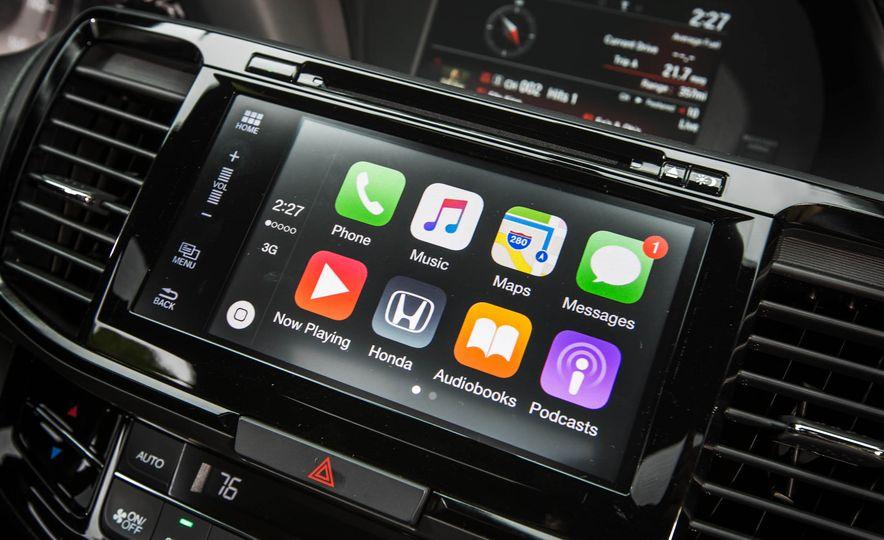 2016 Honda Accord V-6 coupe - Slide 23