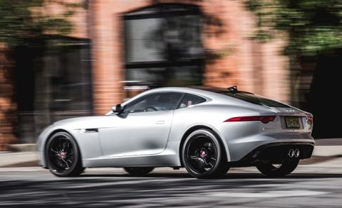 2016 Jaguar F Type V 6 S Coupe