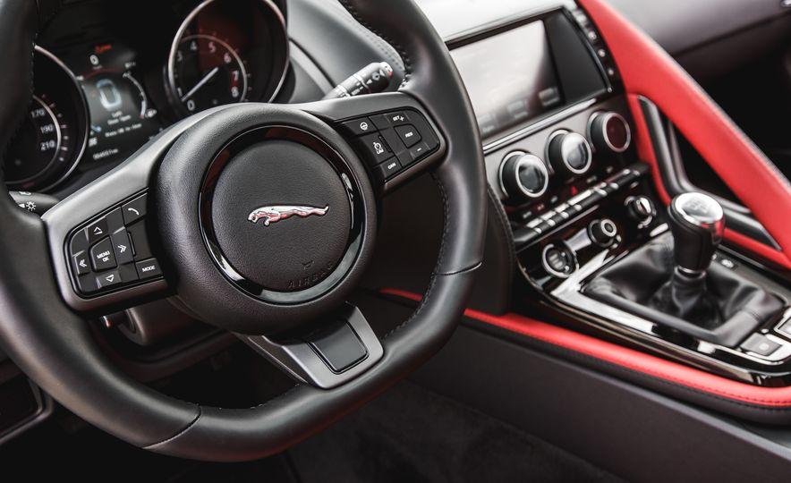 2016 Jaguar F-Type V-6 S coupe - Slide 47