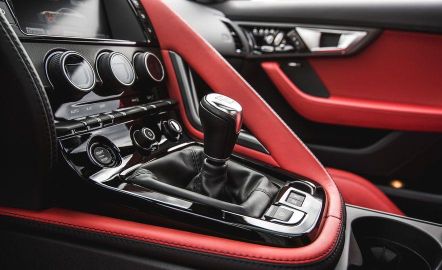 2016 Jaguar F-Type V-6 S coupe - Slide 48