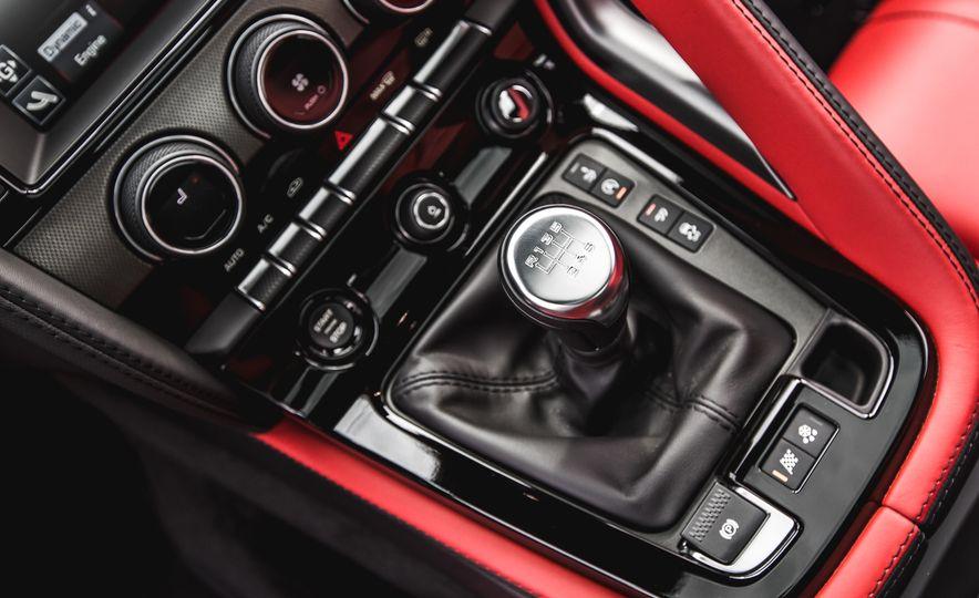 2016 Jaguar F-Type V-6 S coupe - Slide 49