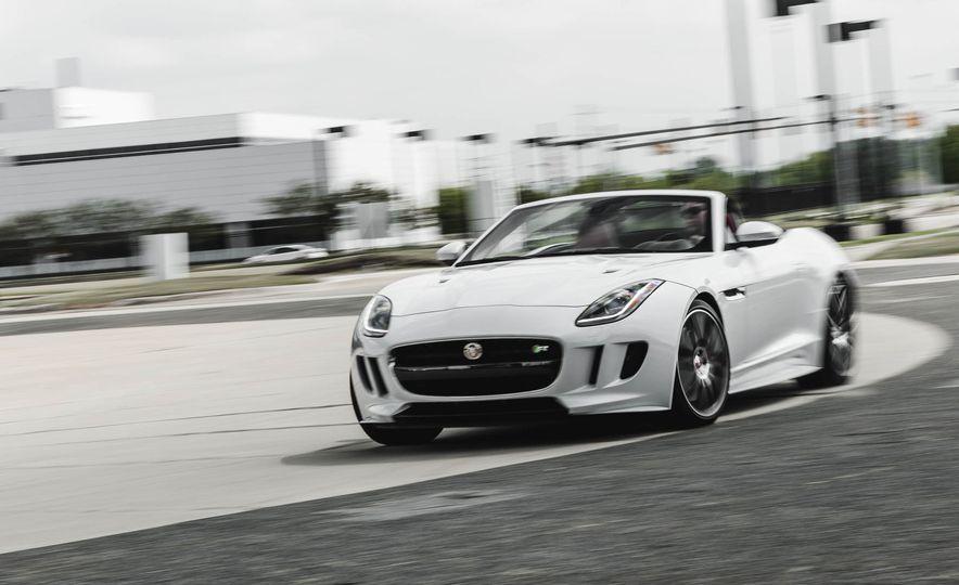 2016 Jaguar F-type R convertible - Slide 1