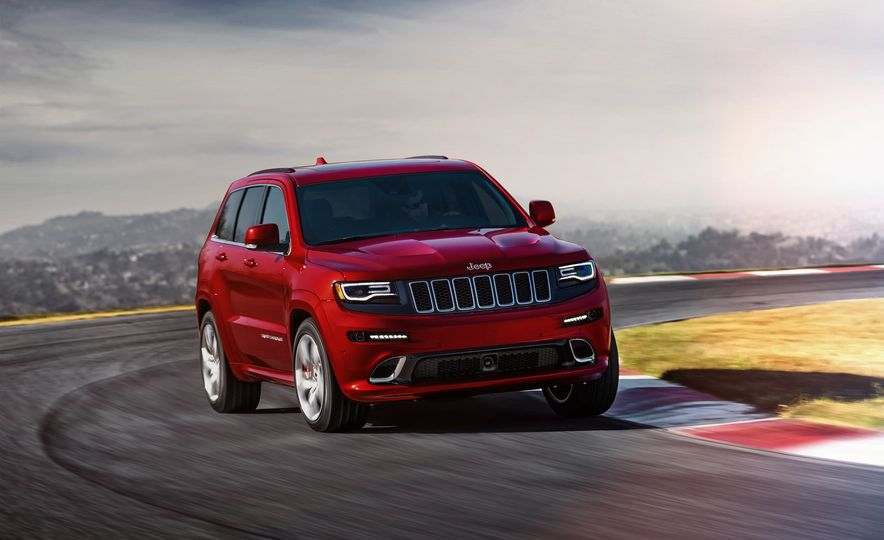 2016 Jeep Grand Cherokee SRT - Slide 4