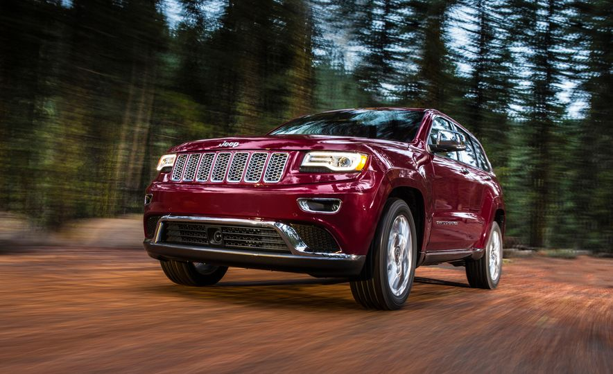 2016 Jeep Grand Cherokee SRT - Slide 13
