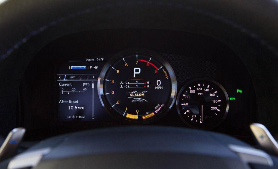 2016 Lexus GS F - Slide 29