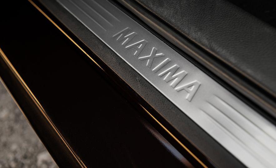 2016 Nissan Maxima SR - Slide 38