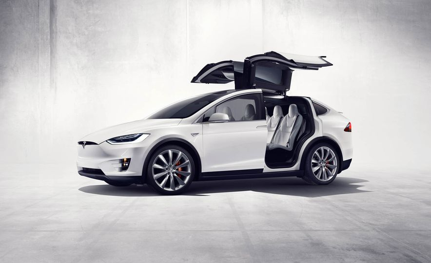 2016 Tesla Model X - Slide 31