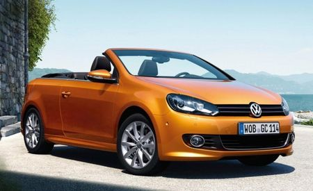 Next Volkswagen Golf Cabrio to Be Sold in the U.S.